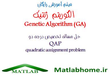 quadratic assignment problem genetic algorithm ga qap free download videos in matlab