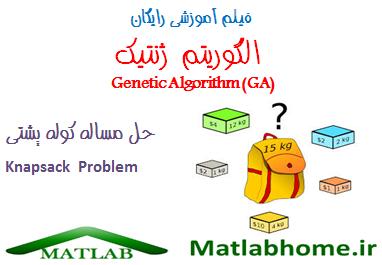 genetic algorithm knapsack Problem free videos download in matlab