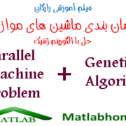 Parallel Machine Problem GA free videos download in matlab