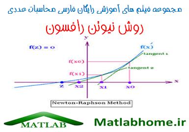 newton raphson Numerical analysis Free Download Videos Farsi