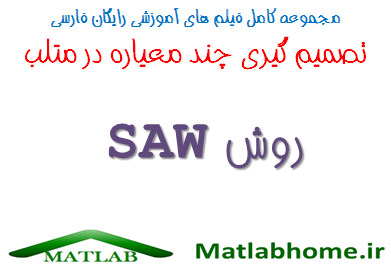 SAW MCDM MADM Free Download Farsi Videos In Matlab