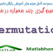 Permutation MCDM MADM Free Download Matlab code Farsi Videos In Matlab