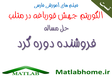 SFLA TSP free download matlab code and Farsi videos in matlab