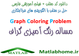 مساله رنگ آمیزی گراف Graph Coloring Problem