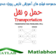 Transportation Problems Matlab Code videos farsi